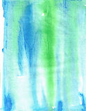 Blue green paint texture background Stock Images