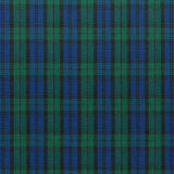 Blue Green Plaid Stock Photo
