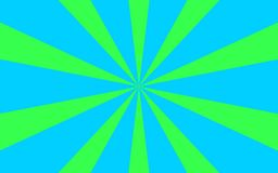 Blue green rays background image. Green and blue rays abstract background image.This is a  illustrated image Stock Photography
