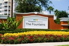 Blue Green Resort, Orlando, Florida Stock Photo