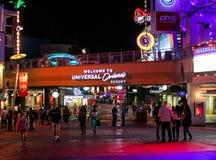 Entrance to Universal Orlando Resort, Orlando, Florida Royalty Free Stock Images