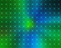 Blue Green Retro Wallpaper stock illustration