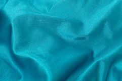 Blue green satin texture Royalty Free Stock Images