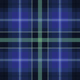 Blue green scottish pattern Stock Images
