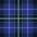 Blue green scottish pattern. Illustration for print Stock Images