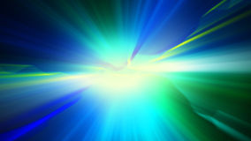 Blue green shiny light abstract background Royalty Free Stock Photos
