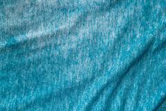 Blue green spandex fabric Stock Photography