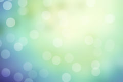 Blue and green sparkle bokeh background Stock Photos