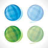 Blue and green sphere Stock Photo