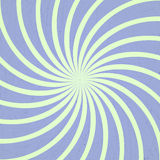 Blue and green spiral vintage Royalty Free Stock Image