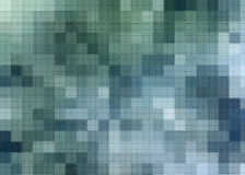Blue and Green Square Abstract Royalty Free Stock Images