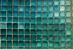 Pattern of many shade of color window squares royalty free stock photography
