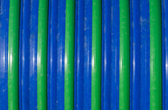 Blue and Green Striped Background Royalty Free Stock Photo