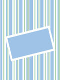 Blue and green strips Royalty Free Stock Photography