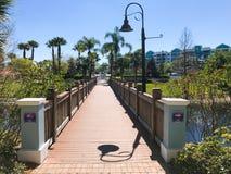 The Fountains at Orlando, Florida. Stock Photography