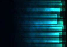 Blue green triangle and square bar abstract background Stock Photo