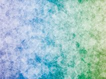 Polygon background. Blue green turquoise polygon abstract vector background Royalty Free Stock Photography