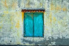 Blue, Green, Wall, Yellow Royalty Free Stock Image