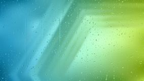 Blue and Green Water Droplet Background vector illustration