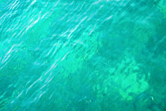 Blue green water texture abstract. Background Stock Image