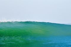 Blue-green wave Royalty Free Stock Images