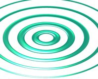 Blue-green waves. Royalty Free Stock Photos