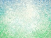 Blue green white abstract vintage background Stock Images