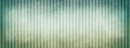 Blue green and white beige striped background with vintage texture design and vignette borders Royalty Free Stock Images