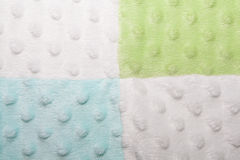 Blue, Green and White Squares and Bubble Texture Royalty Free Stock Photography