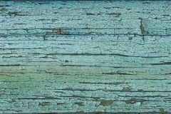 Blue green wood texture with weathered paint stock photos