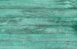 Blue green wooden floor or wall Stock Images