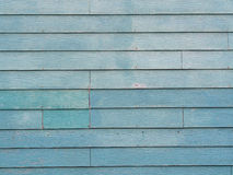 Blue Green wooden wall Royalty Free Stock Images