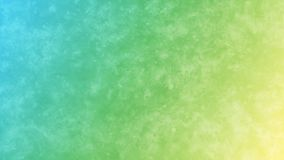 Blue, Green and Yellow Gradient Background with Grunge Watercolor Texture