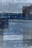 Blue and Grey Abstract Art Painting Stock Images