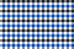 Blue and Grey Gingham pattern. Texture from rhombus/squares for - plaid, tablecloths, clothes, shirts, dresses, paper, bedding,. Blankets, quilts and other royalty free illustration