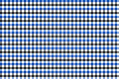 Blue and Grey Gingham pattern. Texture from rhombus/squares for - plaid, tablecloths, clothes, shirts, dresses, paper, bedding,. Blankets, quilts and other vector illustration