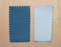 Blue and grey paper sample Royalty Free Stock Images