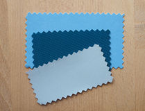 Blue and grey paper sample Stock Photos