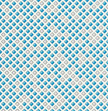 The blue and grey rhombus pattern Stock Photos