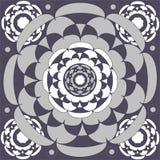 Circular ornamental  tile Stock Photography