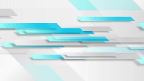 Blue and grey technology geometric abstract motion background