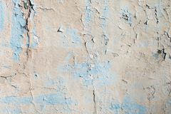 Blue and grey texture with scratches and cracks. blue background. blue and grey pattern.light wall. Blue and grey texture with scratches and cracks. blue royalty free stock photo