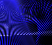 Blue Grid. Abstract blue lines background resembling grid work Royalty Free Stock Image