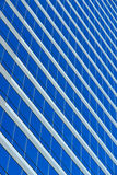 Blue grid. Highrise grid Stock Photography