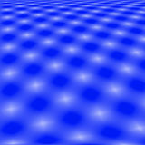 Blue Grid Abstract Background. White Lights On A Blue Background, Grid Abstract Stock Images