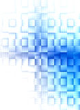 Blue grid background Royalty Free Stock Photo