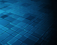 Blue grid background Royalty Free Stock Image