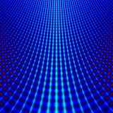 Blue grid fractal royalty free stock photography