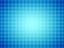 Blue Grid Glow Stock Photo