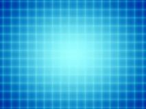 Blue Grid Glow Stock Photo